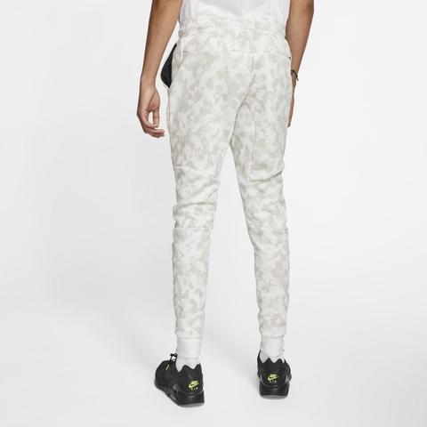 Nike Sportswear Tech Fleece Men S Printed Joggers White From Nike On 21 Buttons