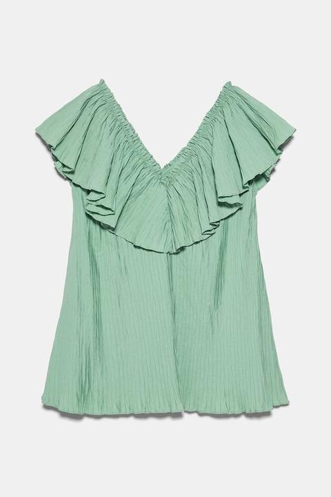 Vestido Plisado Volumen