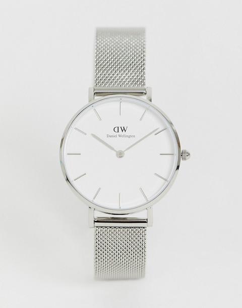Reloj De Malla Plateado Dw00100164 De Daniel Wellington de ASOS en 21 Buttons