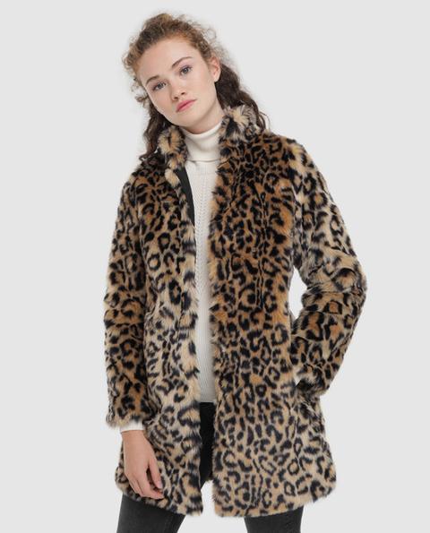 Easy Wear - Abrigo De Mujer De Pelo Sintético Largo de El Corte Ingles en 21 Buttons