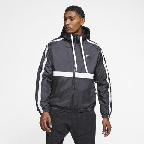 Nike Air Chaqueta De Tejido Woven - Hombre - Negro de Nike en 21 Buttons