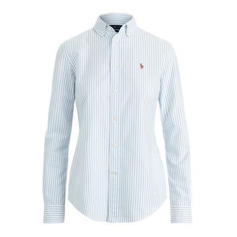 Striped Cotton Oxford Shirt from Ralph Lauren on 21 Buttons