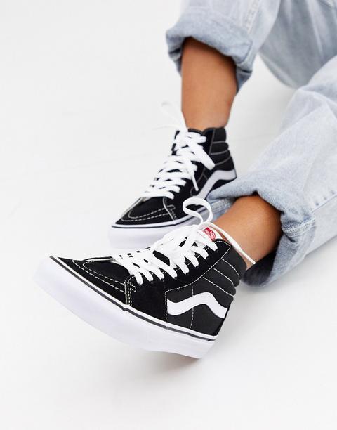 Zapatillas De Deporte Negras Sk8-hi De Vans-negro