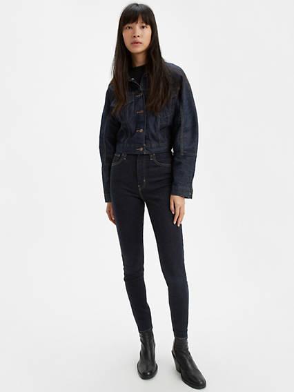 Mile High Super Skinny Jeans Negro / Celestial Rinse de Levi's en 21 Buttons