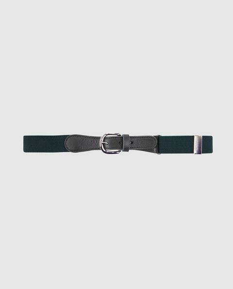 Freestyle - Cinturón De Niño Elástico Verde