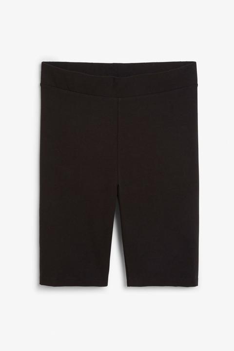 Short Leggings - Black