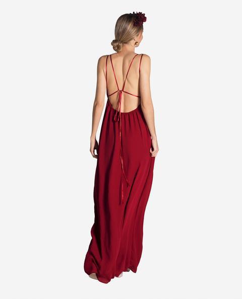 Vestido Greece · Rojo