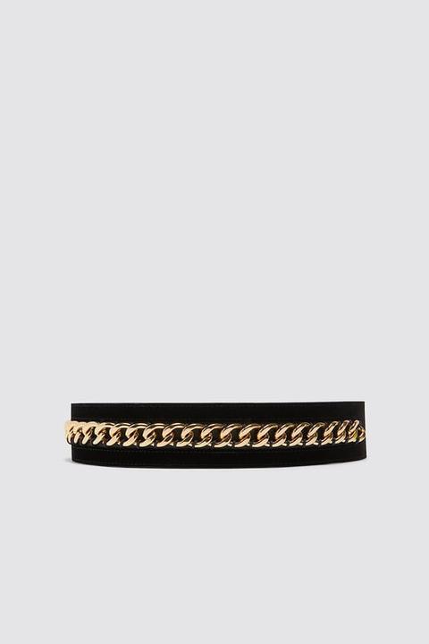 Cinturón Doble Hebilla Cadena