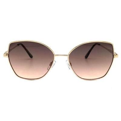 Women's Cat Eye Sunglasses - A New Day™ Gold