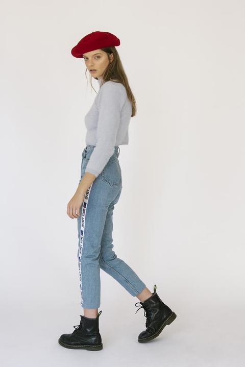 90s Logo Mid Wash Jeans de ARIZONA VINTAGE en 21 Buttons