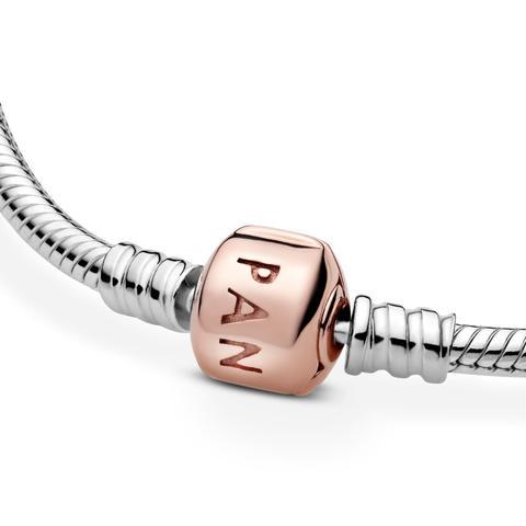 Pulsera Moments Con Cierre En Pandora Rose