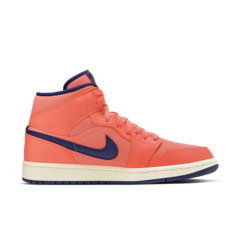 air jordan 1 mid donna arancione