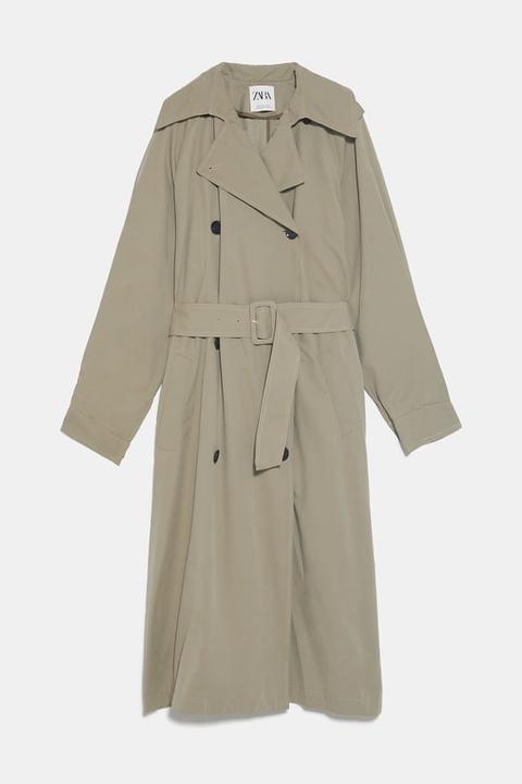 Trench Oversize de Zara en 21 Buttons
