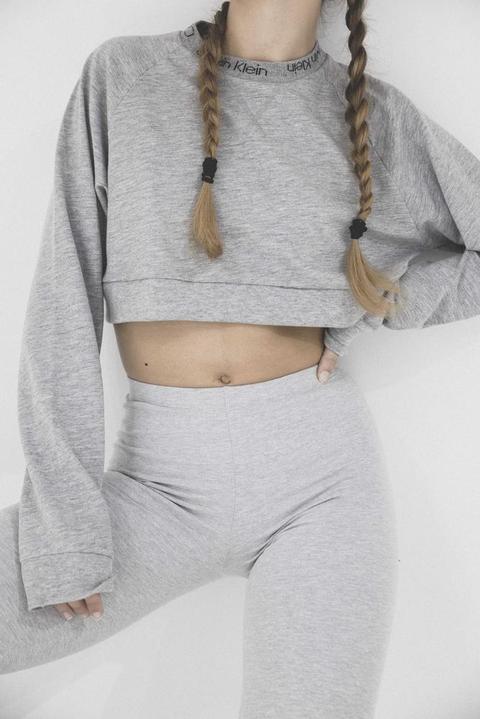 Calvin Klein Sweatshirt Grey Heather de ARIZONA VINTAGE en 21 Buttons