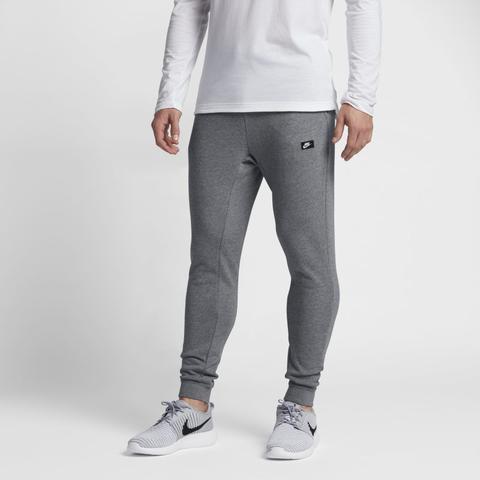 pantaloni nike grigio uomo