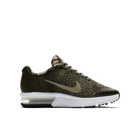 Chaussure Nike Air Max Sequent 2 Pour Enfant Plus Âgé Kaki Nike sur 21 Buttons