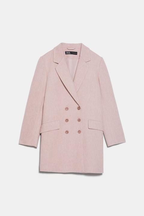 Zweireihiger Mantel Mit Knöpfen from Zara on 21 Buttons
