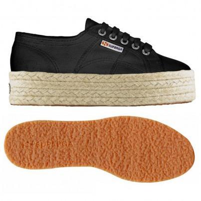 2790-cotropew, 12910, Lady Shoes S0099z0 999 Black de Superga en 21 Buttons