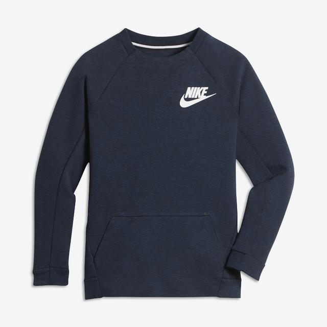Maglia A Girocollo A Manica Lunga Nike Sportswear Tech Fleece Ragazzo from Nike on 21 Buttons