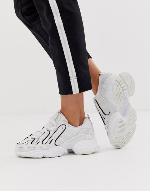 Zapatillas En Blanco Eqt Gazelle De Adidas Originals de ASOS en 21 Buttons