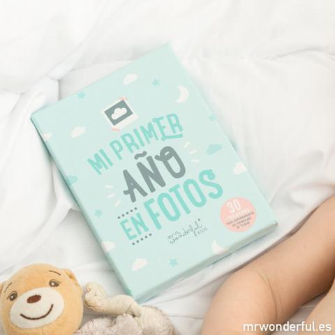 Tarjetas Para Bebés - Mi Primer Año En Fotos de Mr Wonderful en 21 Buttons