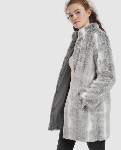 Easy Wear - Abrigo De Mujer Largo De Pelo Sintético de El Corte Ingles en 21 Buttons