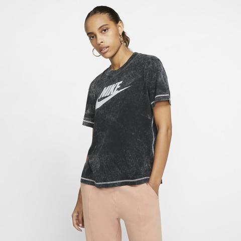 Nike Sportswear Camiseta De Manga Corta Mujer Negro de Nike en 21 Buttons