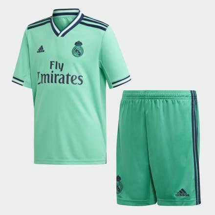 Miniconjunto Tercera Equipación Real Madrid de Adidas en 21 Buttons