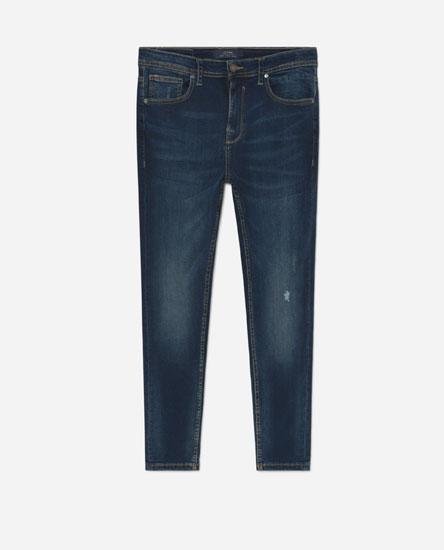 Skinny Jeans de Lefties en 21 Buttons