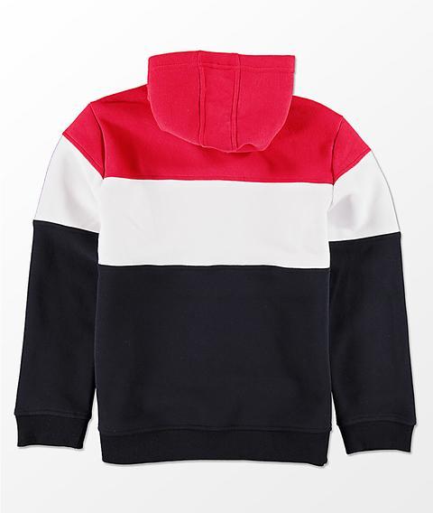 Fila Boys Color Blocked Red, White
