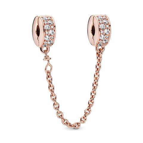 Cadena De Seguridad Pandora Rose Elegancia Brillante de Pandora en 21 Buttons