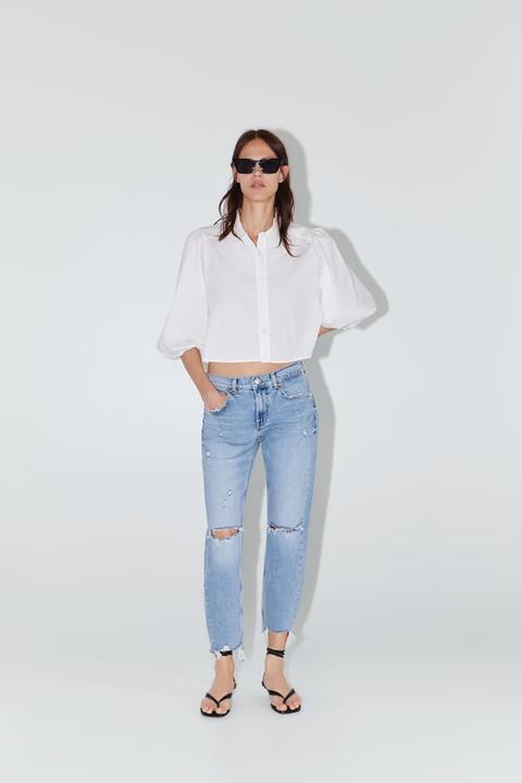 Jeans Zw Premium Slim Boyfriend Beach Blue