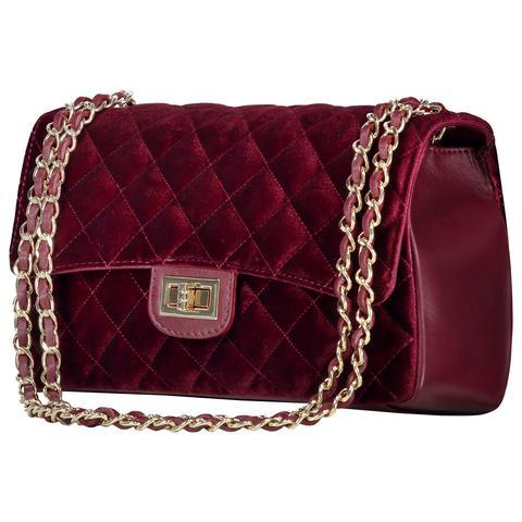 Velvet Bag Bordeaux from Fashion Drug on 21 Buttons