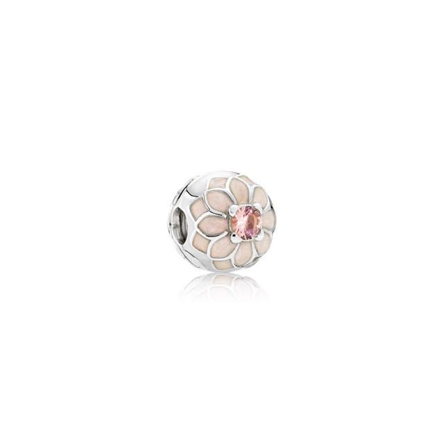 anello dalia in fiore pandora