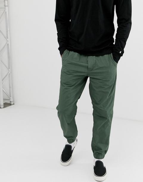 Pantalones Verdes Coleman De Carhartt Wip de ASOS en 21 Buttons