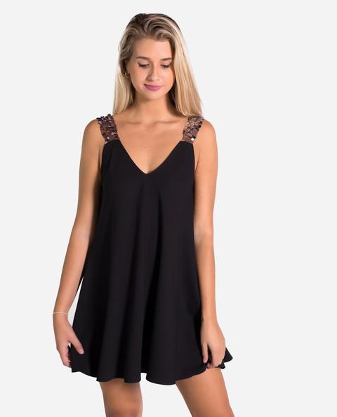 Tank Dress · Negro de THE-ARE en 21 Buttons
