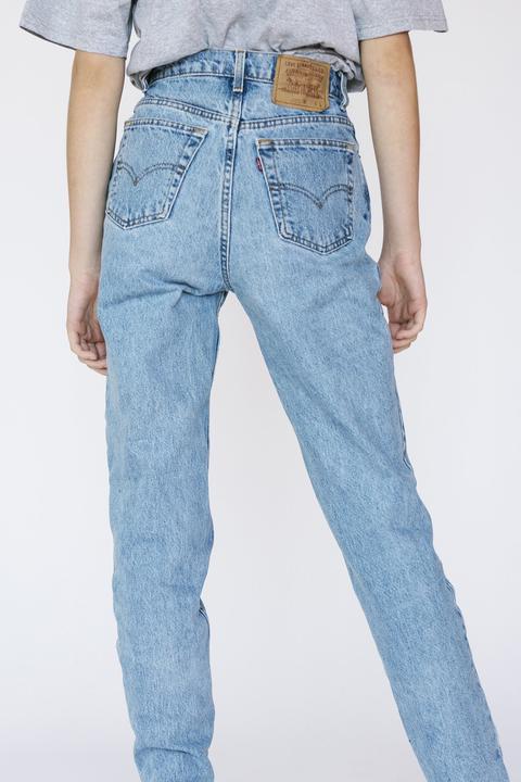 Levi's Stone Washed Boyfriend Jeans