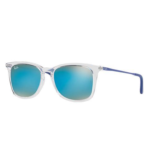 Rj9063s Unisex Sunglasses Lentes: Azul, Montura: Azul de Ray-Ban en 21 Buttons