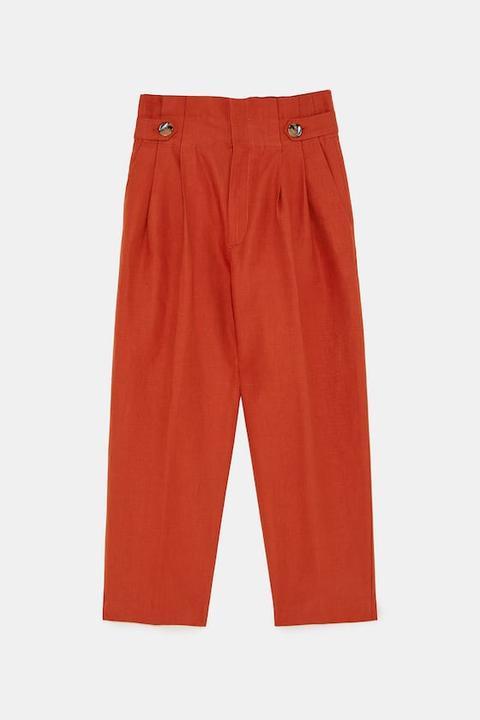 Pantalón Botones Cintura