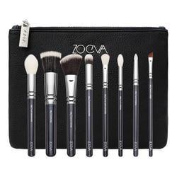Classic Brush Set - Kit De Brochas Y Pinceles Para Rostro Y Ojos