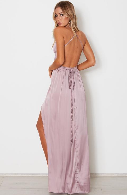 Akela Maxi Dress Mauve