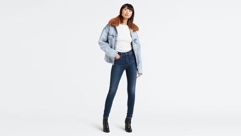 Mile High Super Skinny Jeans Bleu Moyen / Breakthrough Blue