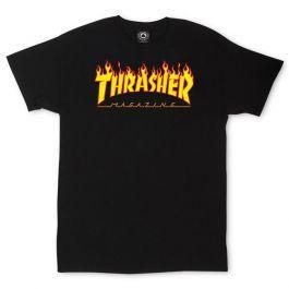 Flame Logo T-shirt (black)