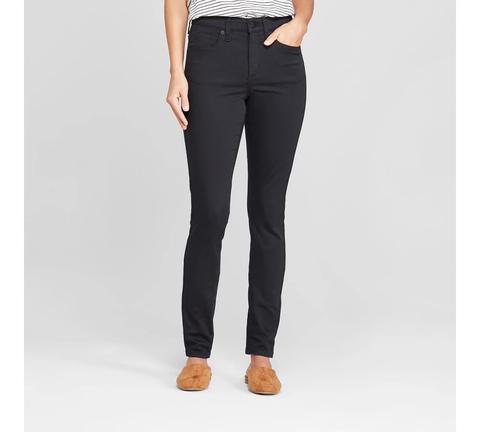 Women's Highest-rise Skinny Jeans - Universal Thread™ Black Wash