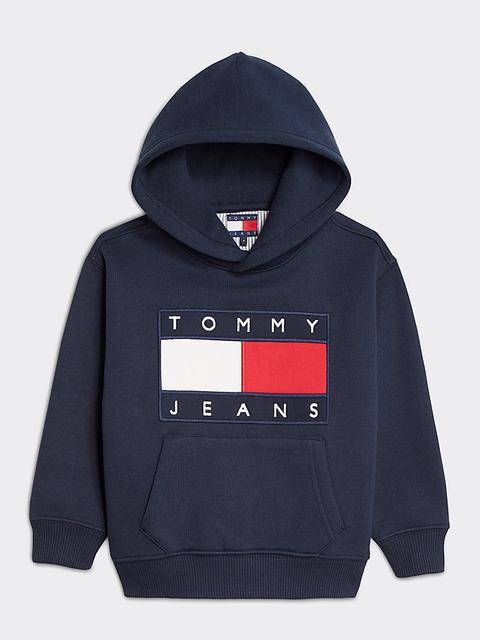 Sudadera Tommy Jeans Con Capucha, Parche Y Logo de Tommy Hilfiger en 21 Buttons