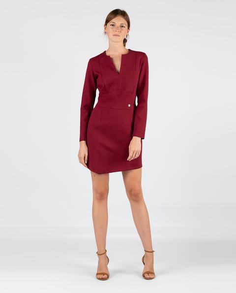 Vestido Punto Roma Rojo de EL GANSO en 21 Buttons