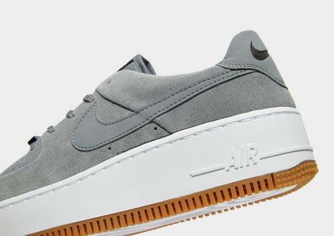 nike air force sage low grey