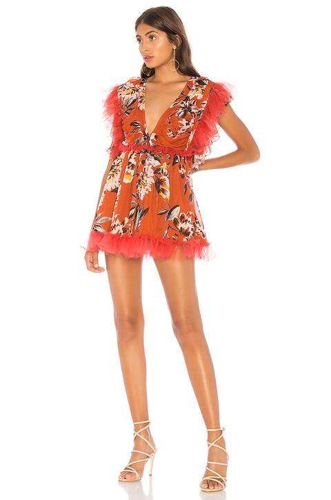 Mini Vestido Sin Mangas Amelia de Revolve en 21 Buttons