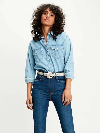 Essential Western Shirt Azul / Cool Out (3) de Levi's en 21 Buttons