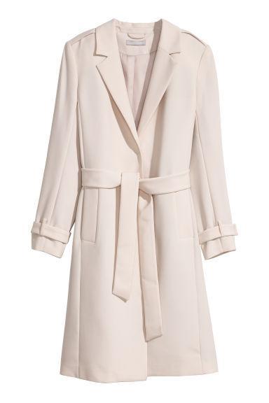 designer fashion 719ac 9e92f Mantel - Beige - Damen from H&M on 21 Buttons